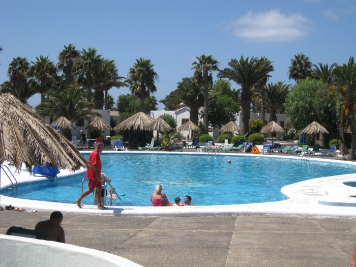 27) Las Brisas 40 metre Heated Pool