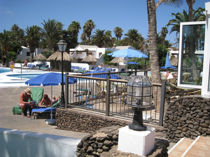 32)Bar Patio area overlooking the pools